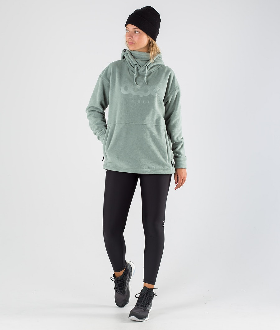 Dope Cozy II W Women's Fleece Hood Faded Green