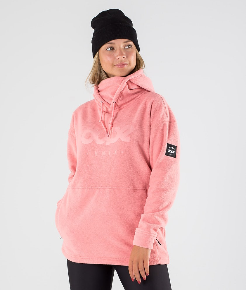 Dope Cozy II W Fleece Hood Pink