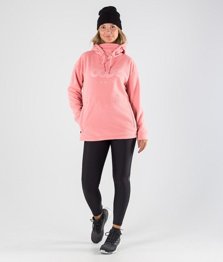 Dope Cozy II W Women's Fleece Hood Pink