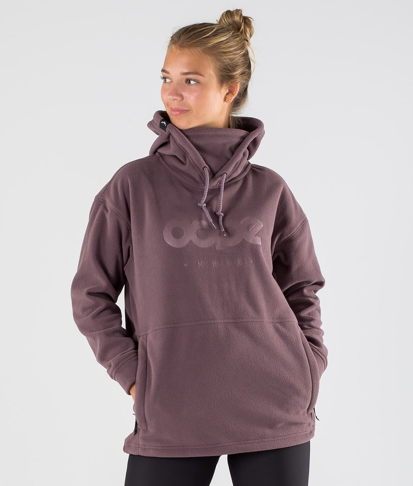 Dope Cozy II W Fleece Hood Faded Grape