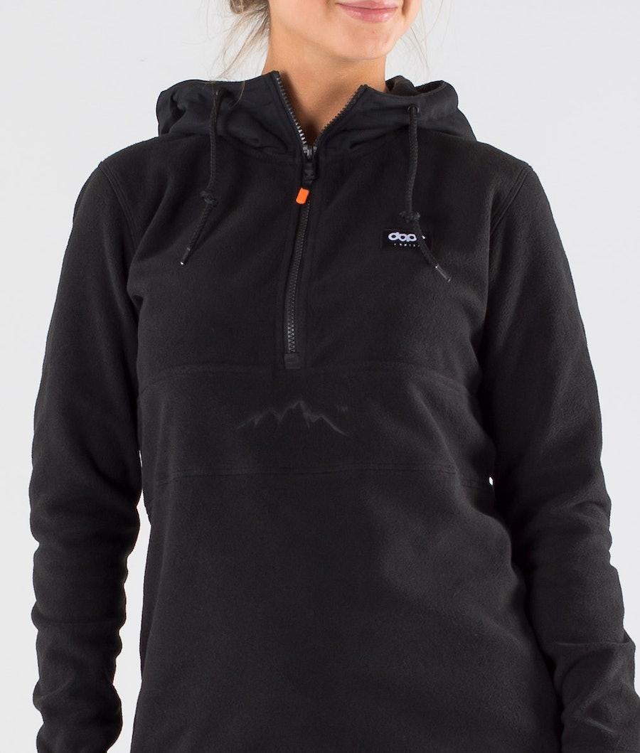 Dope Loyd PO W Women's Fleece Hood Black