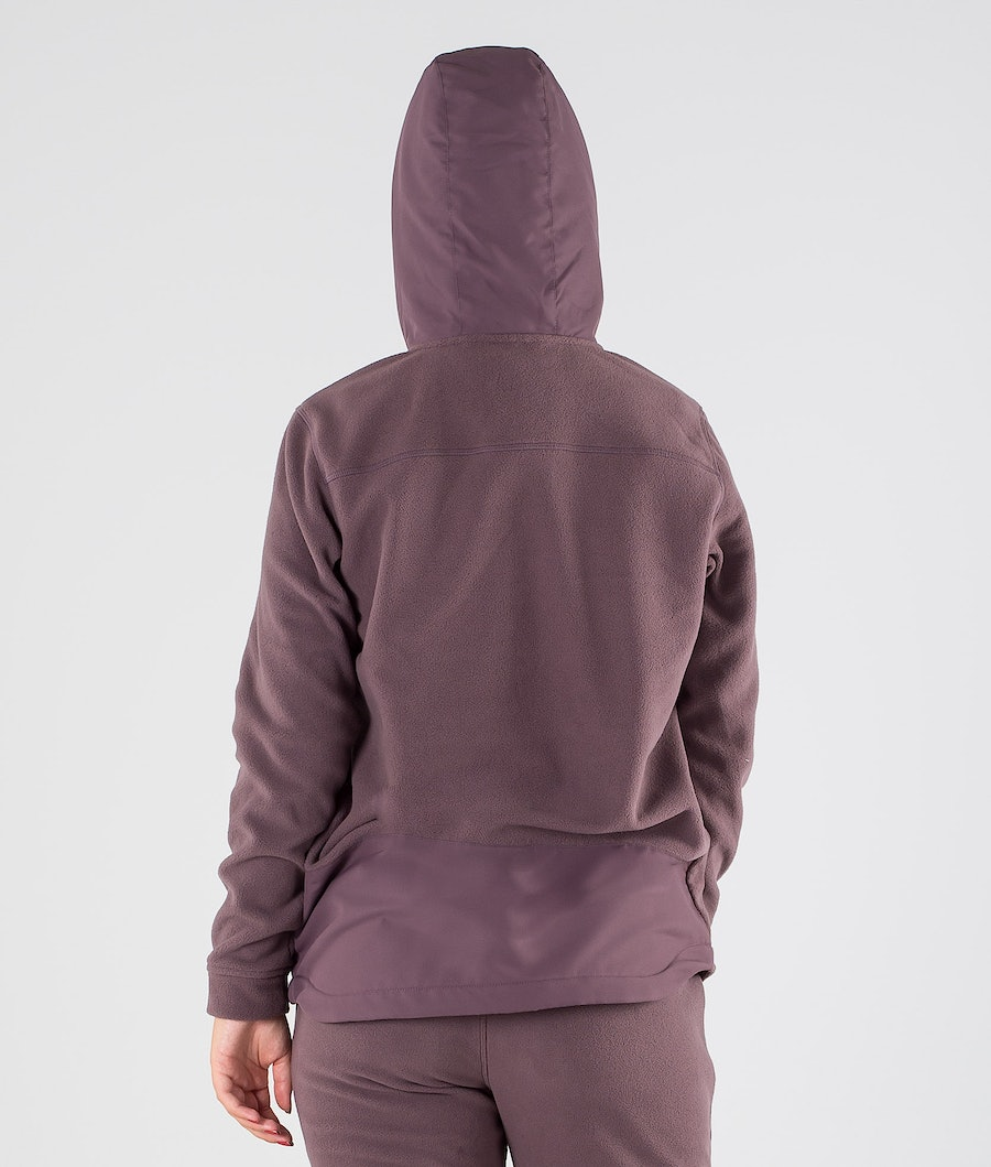 Dope Loyd PO W Fleece Hoodie Damen Faded Grape