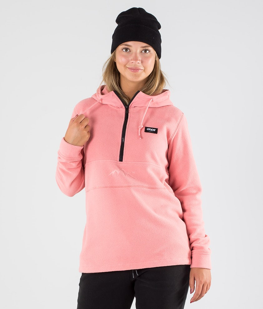 Dope Loyd PO W Fleece Hood Pink