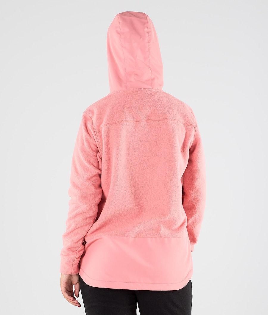 Dope Loyd PO W Fleecegenser Dame Pink
