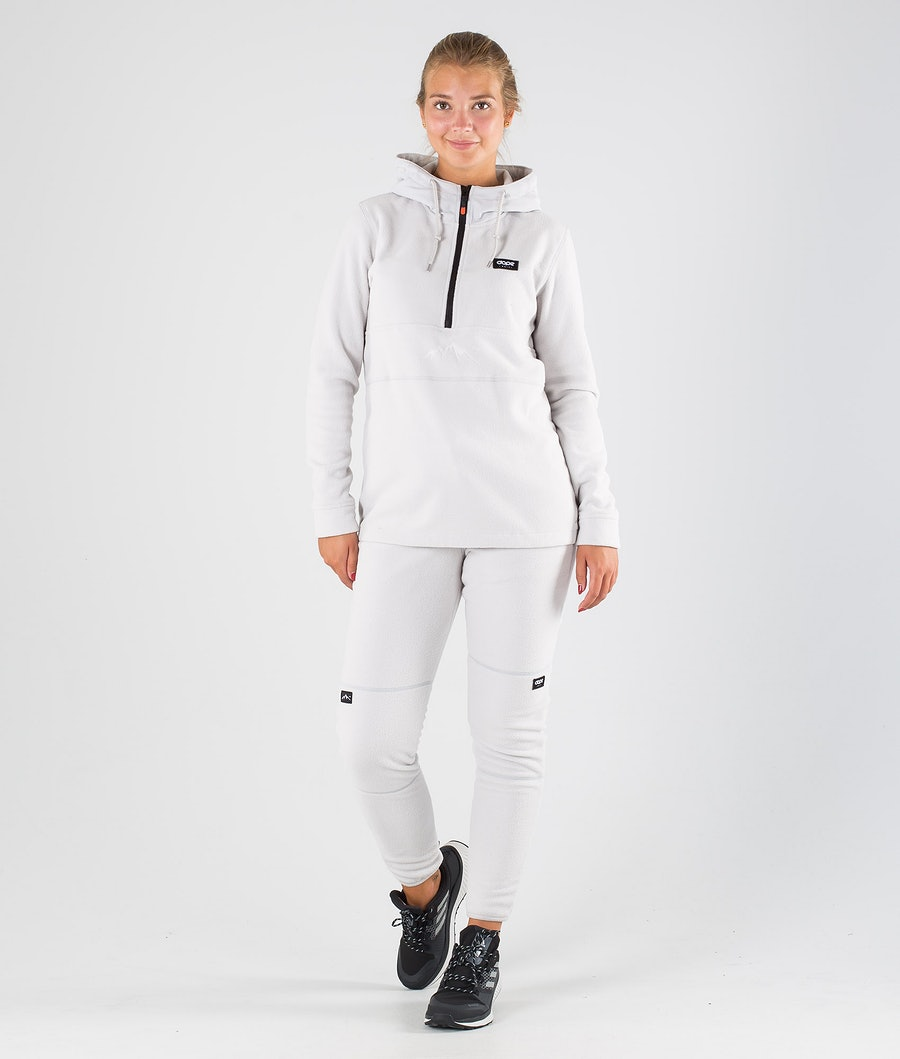 Dope Loyd PO W Women's Fleece Hood Light Grey