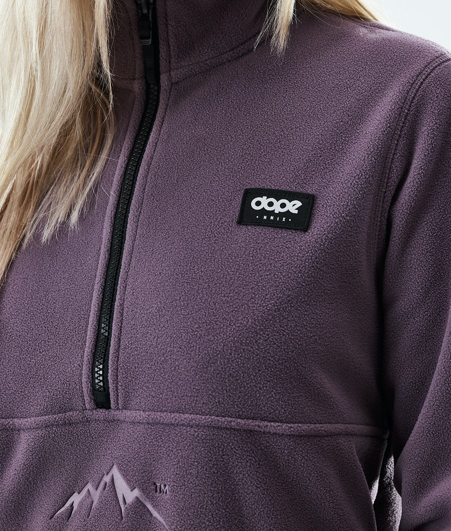 Dope Loyd W Women's Fleece Sweater Faded Grape