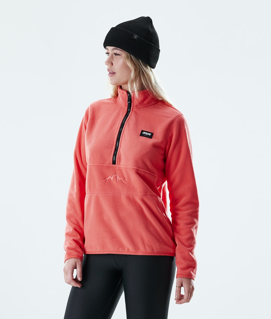Dope Loyd W Fleece Sweater Coral