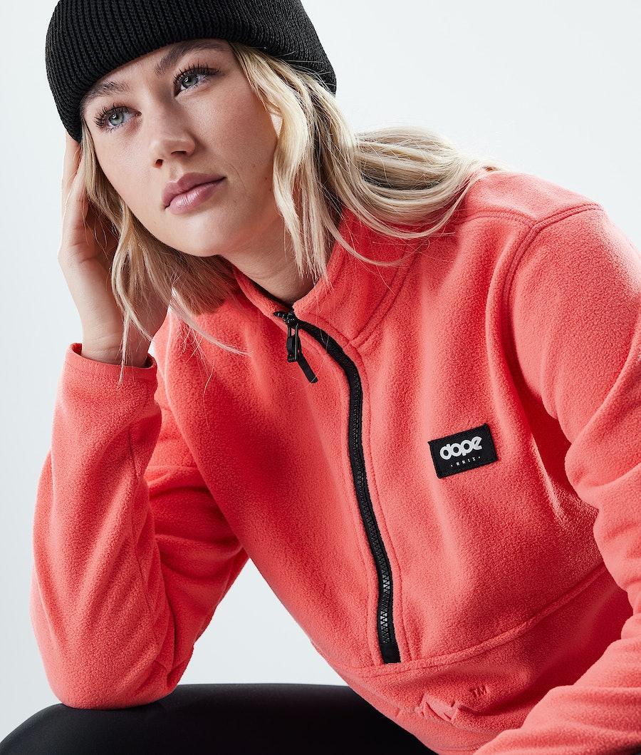 Dope Loyd W Women's Fleece Sweater Coral