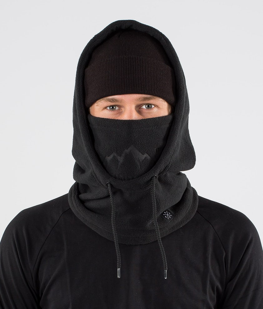 Dope Cozy Hood Scaldacollo Black