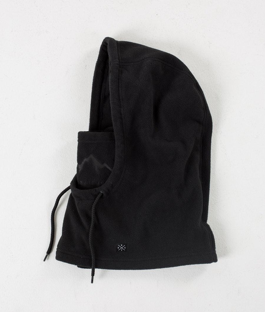 Dope Cozy Hood Facemask Black