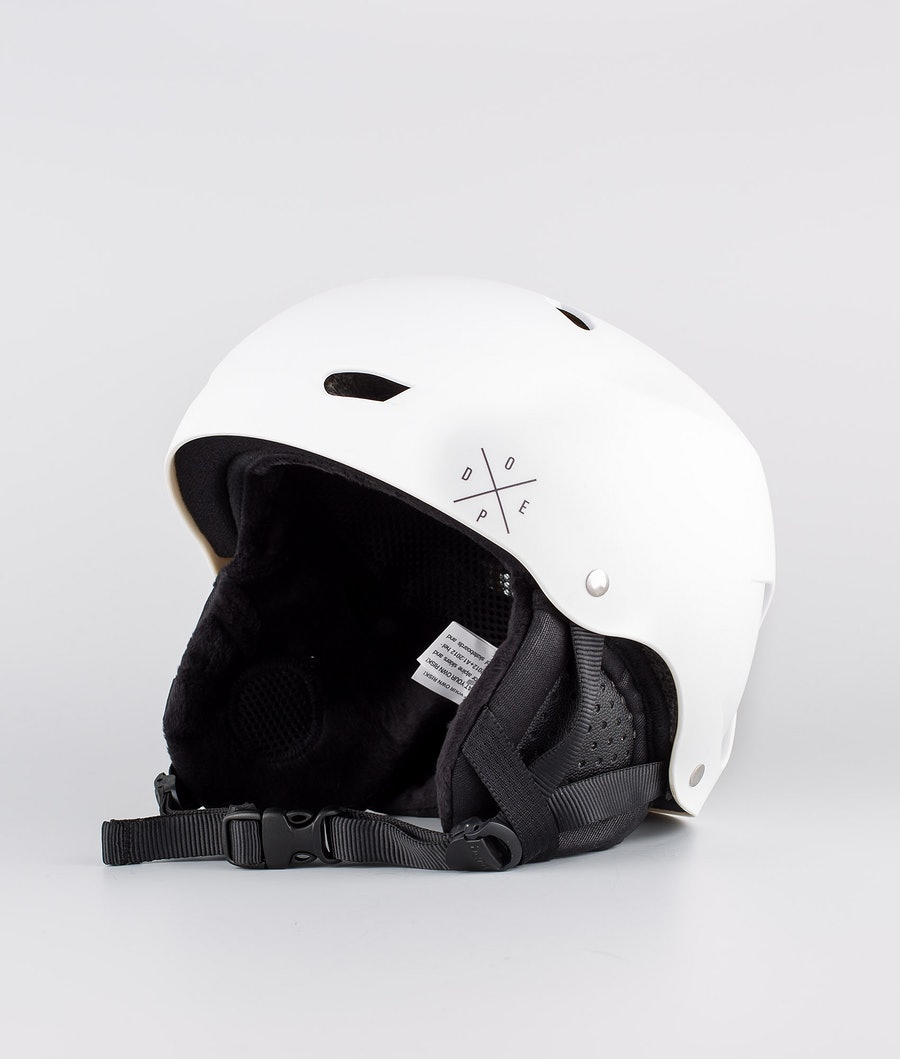Bern Brighton Dope 2X-UP Eps Boa Skihelm Matt White