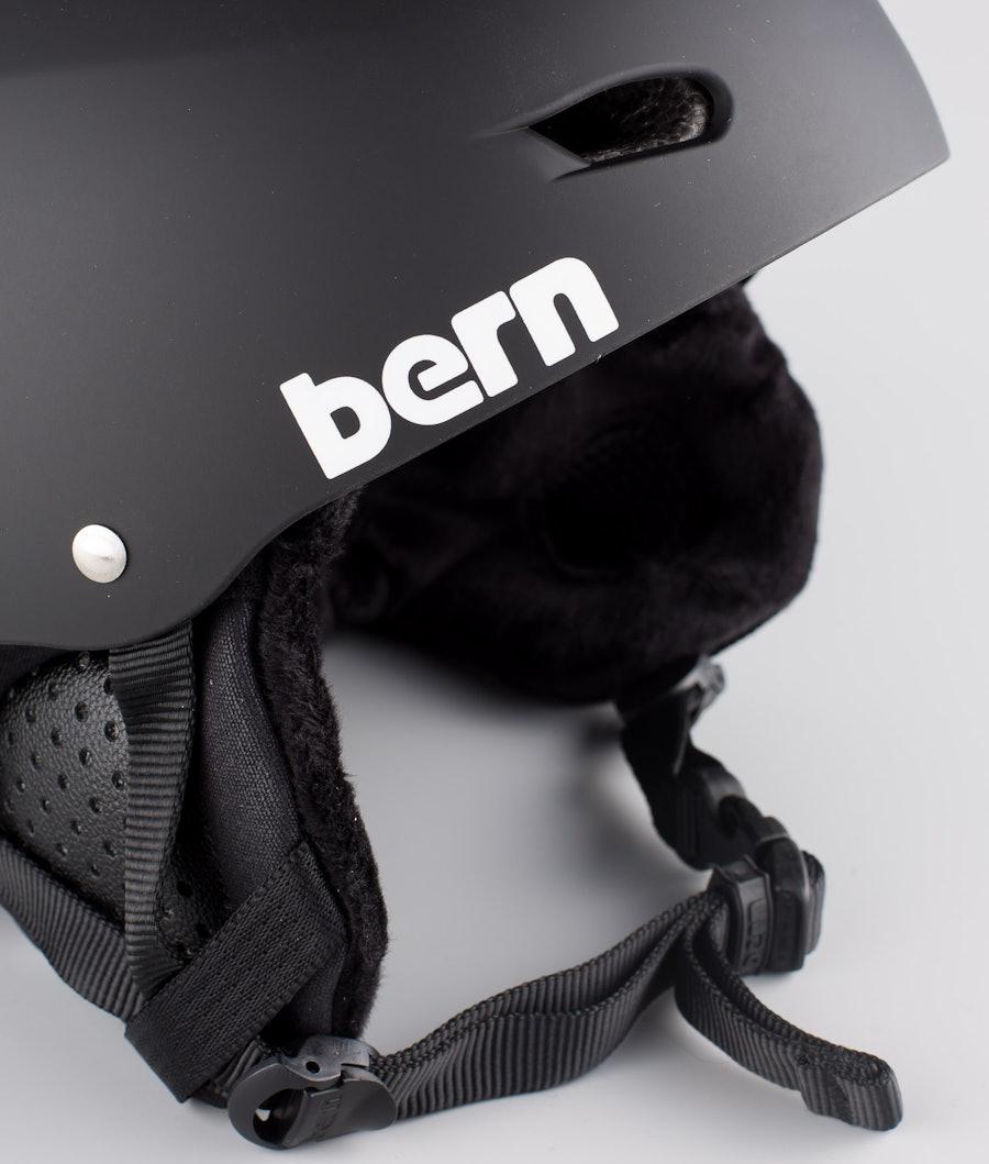 Bern Brighton Dope 2X-UP Eps Boa Casque de Ski Matt Black