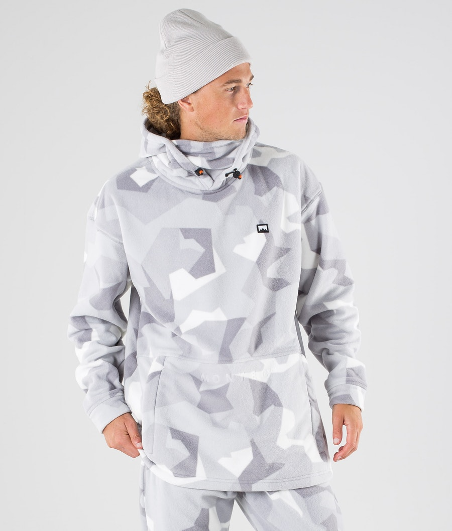 Montec Delta Fleecehood Snow Camo