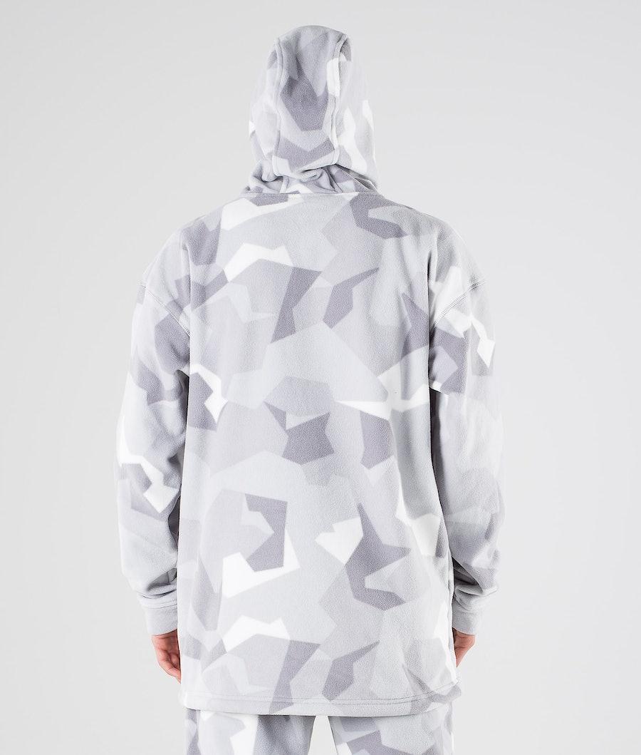 Montec Delta Fleece Hoodie Snow Camo