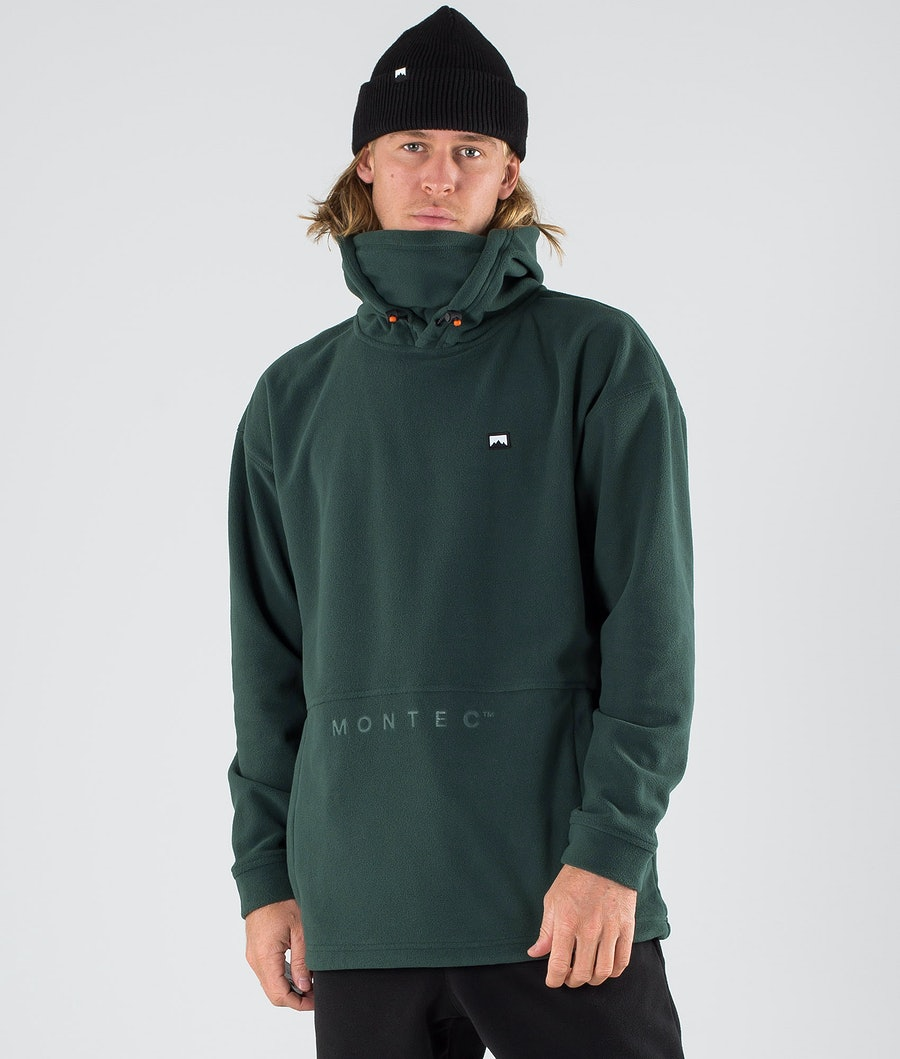Montec Delta Fleece Hood Dark Atlantic