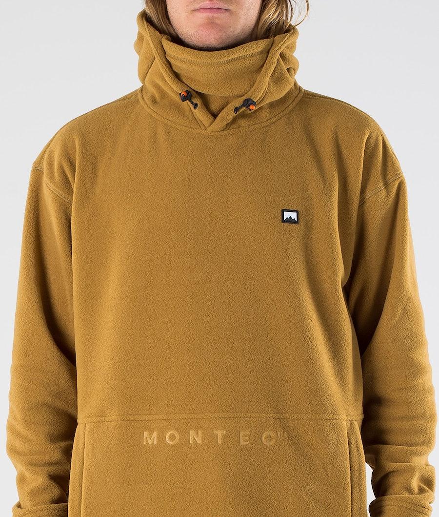 Montec Delta Pile con Cappuccio Gold