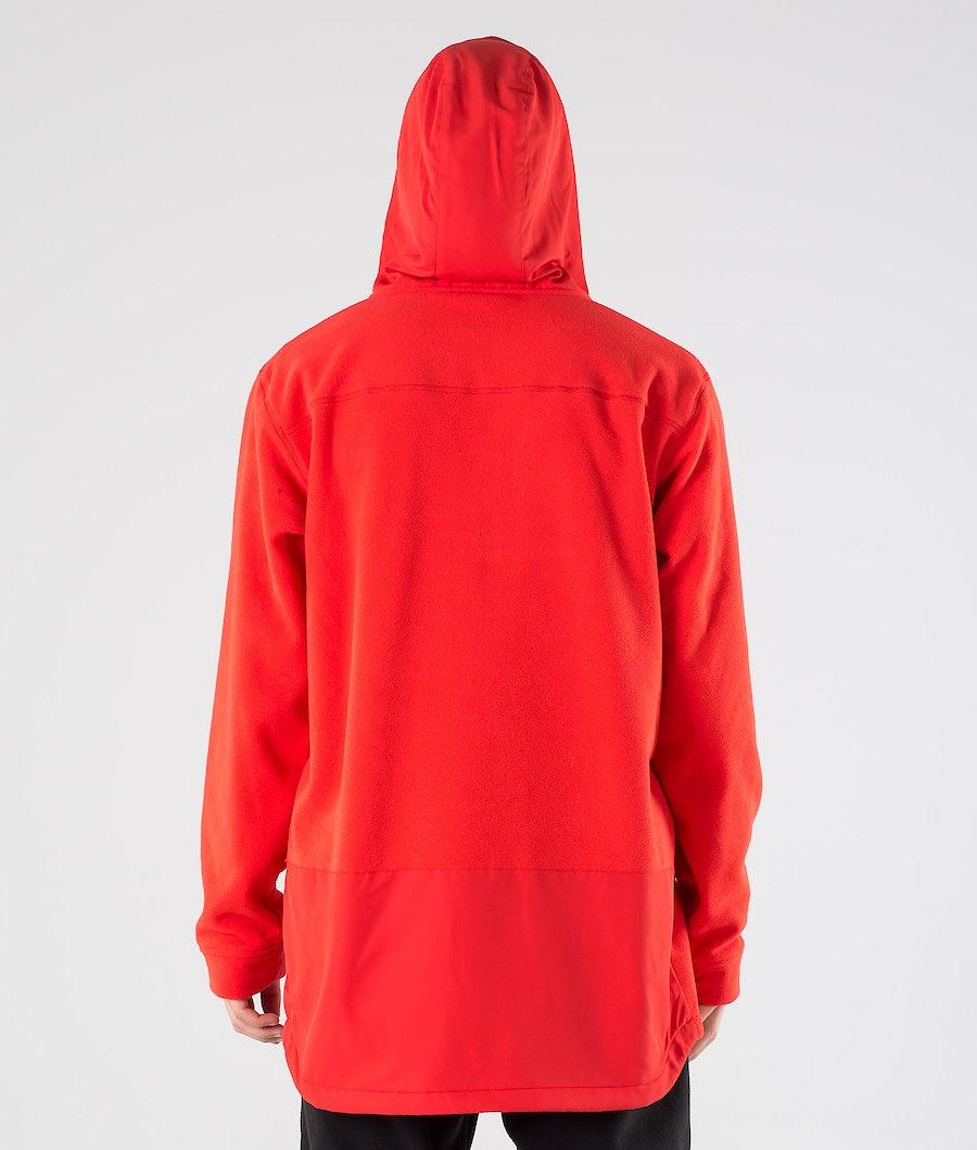 Montec Echo PO Pile con Cappuccio Red