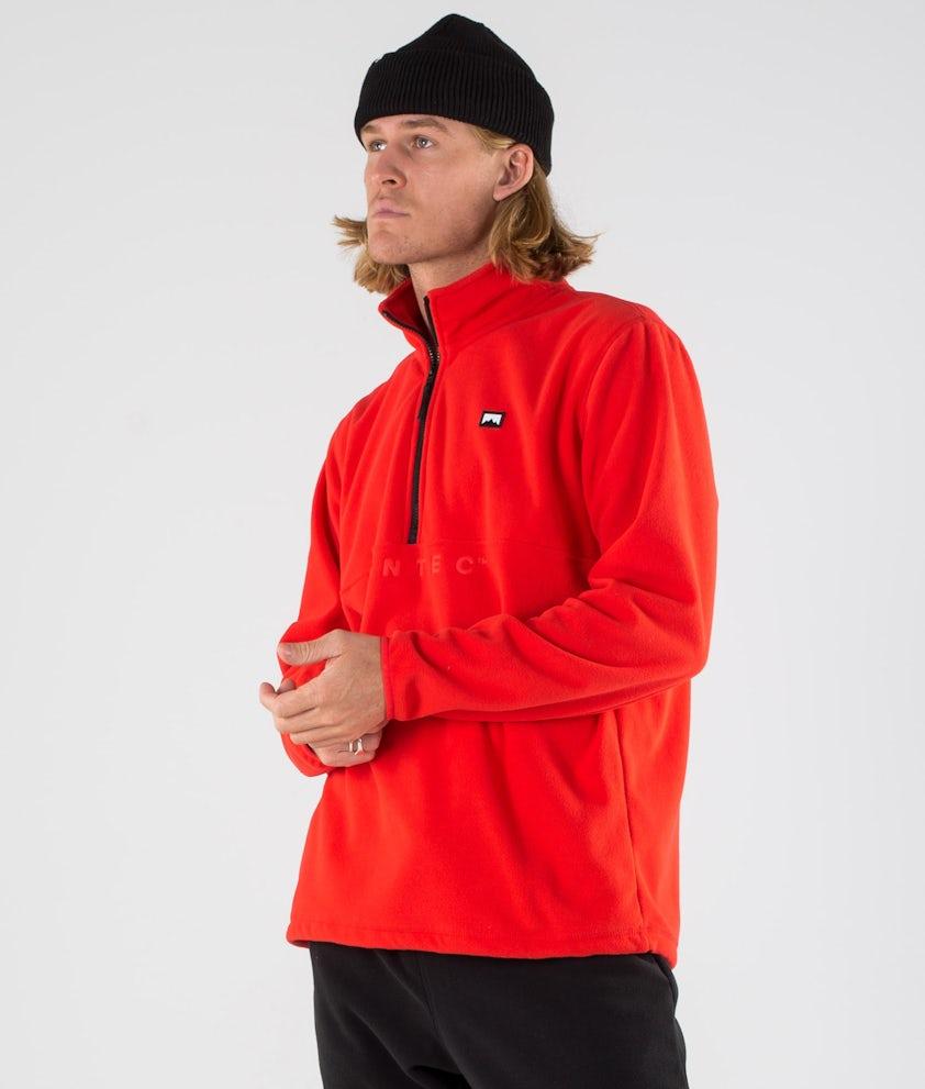 Montec Echo Fleecepullover Red