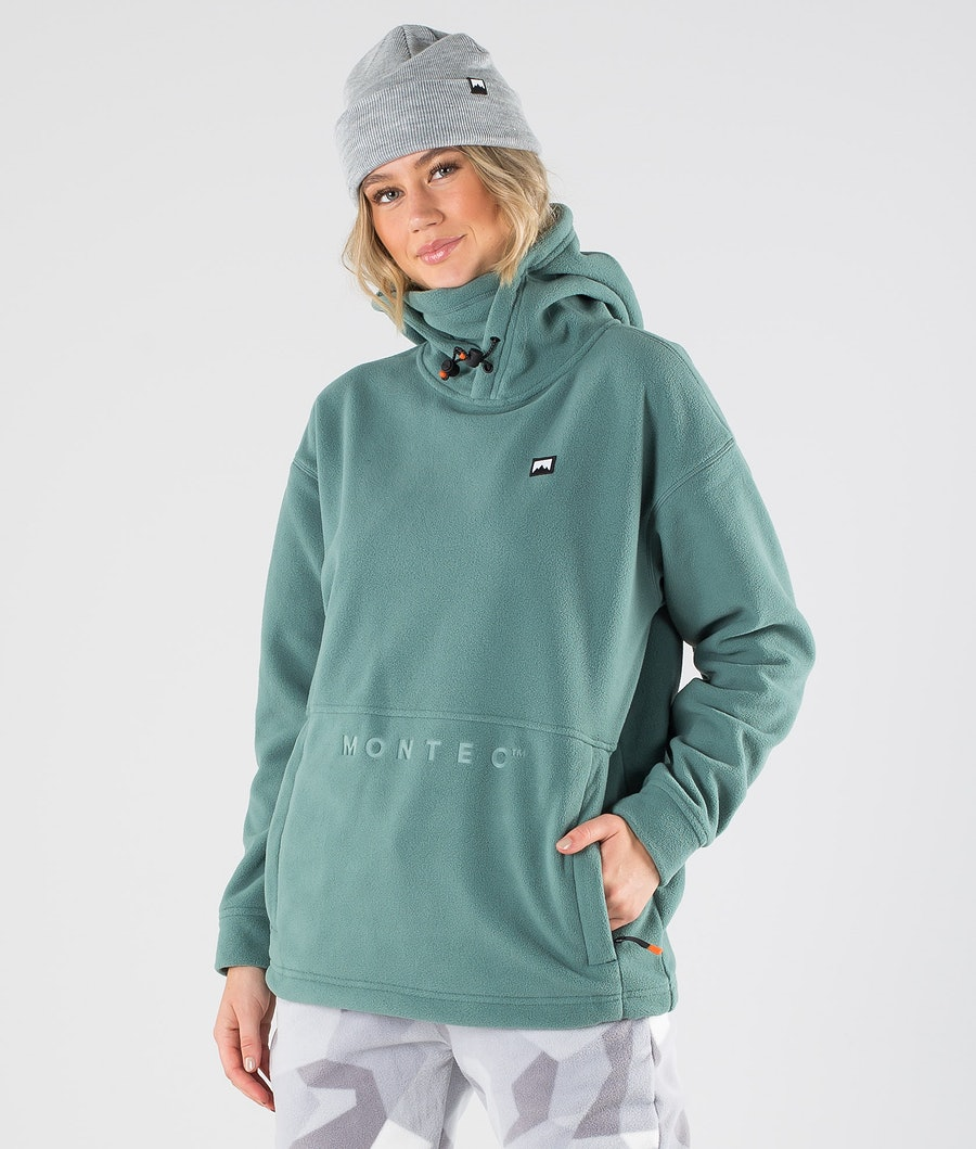 Montec Delta W Fleece Hood Atlantic