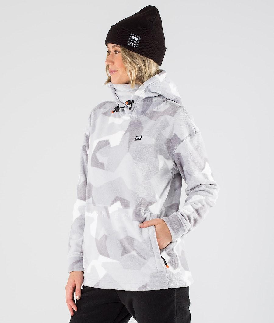 Montec Delta W Fleece Hood Snow Camo