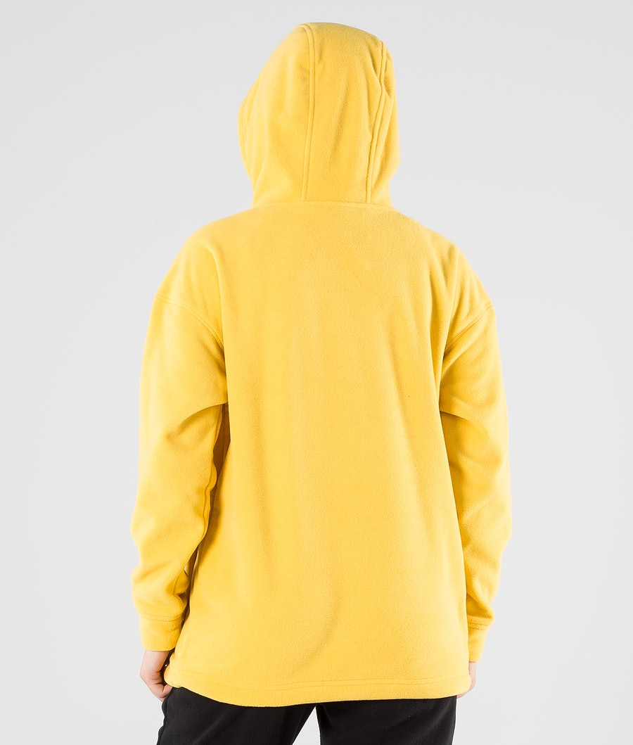 Montec Delta W Women's Fleece Hood Yellow