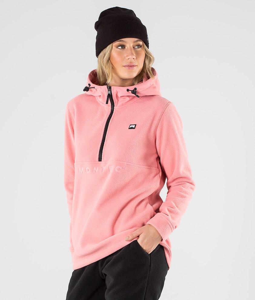 Montec Echo PO W Fleecehood Pink