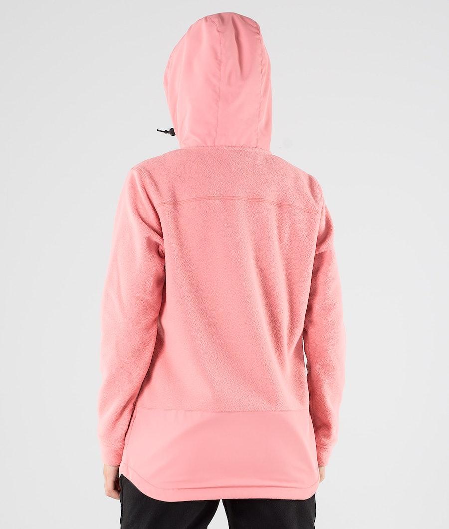 Montec Echo PO W Fleecehood Dam Pink