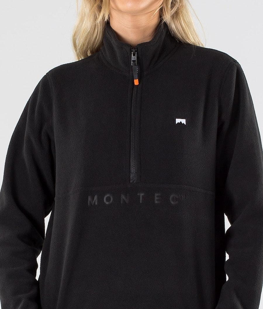 Montec Echo W Naisten Fleecepaita Black
