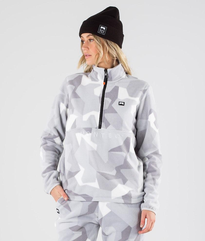 Montec Echo W Fleece Sweater Snow Camo
