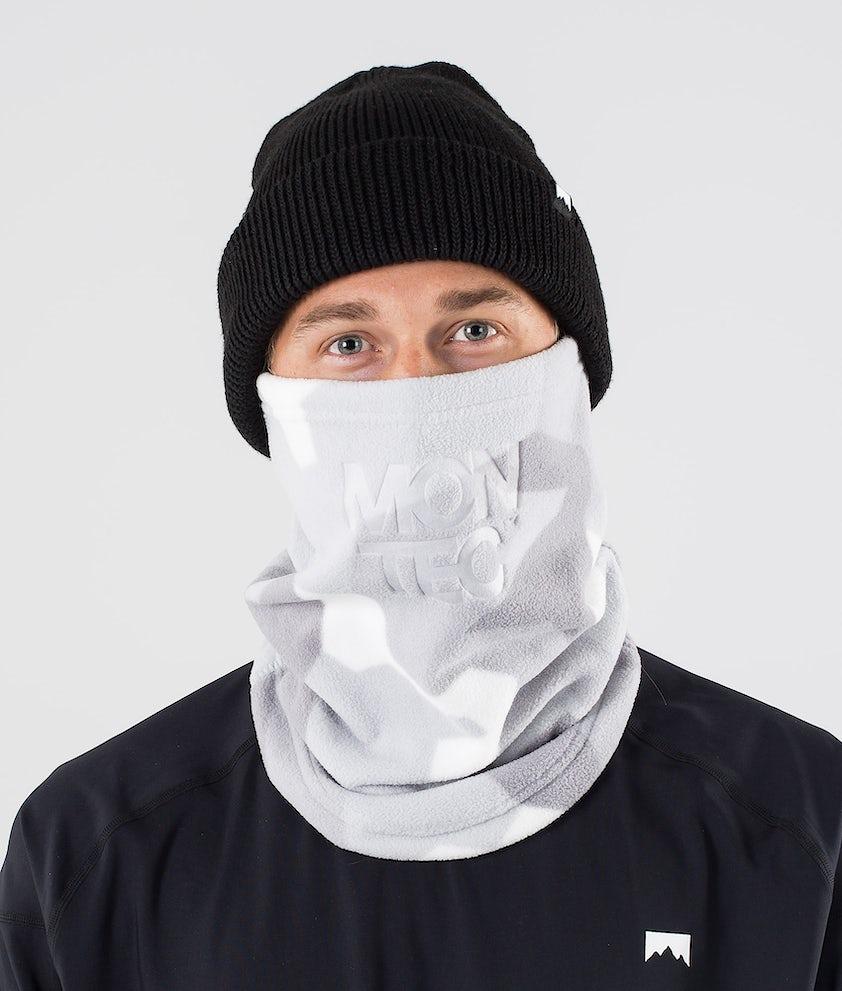 Montec Echo Tube Facemask Snow Camo
