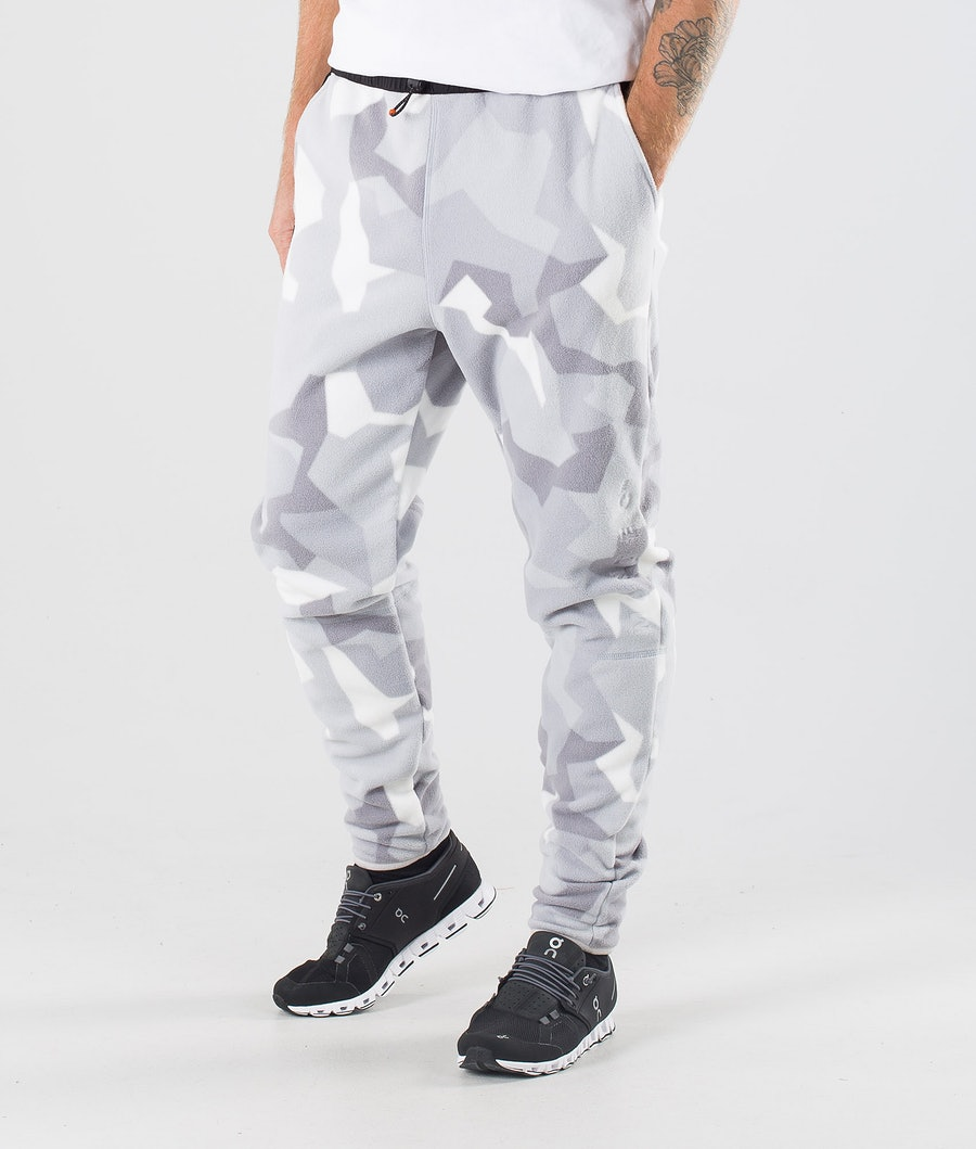 Echo Fleece Pants Men Snow Camo