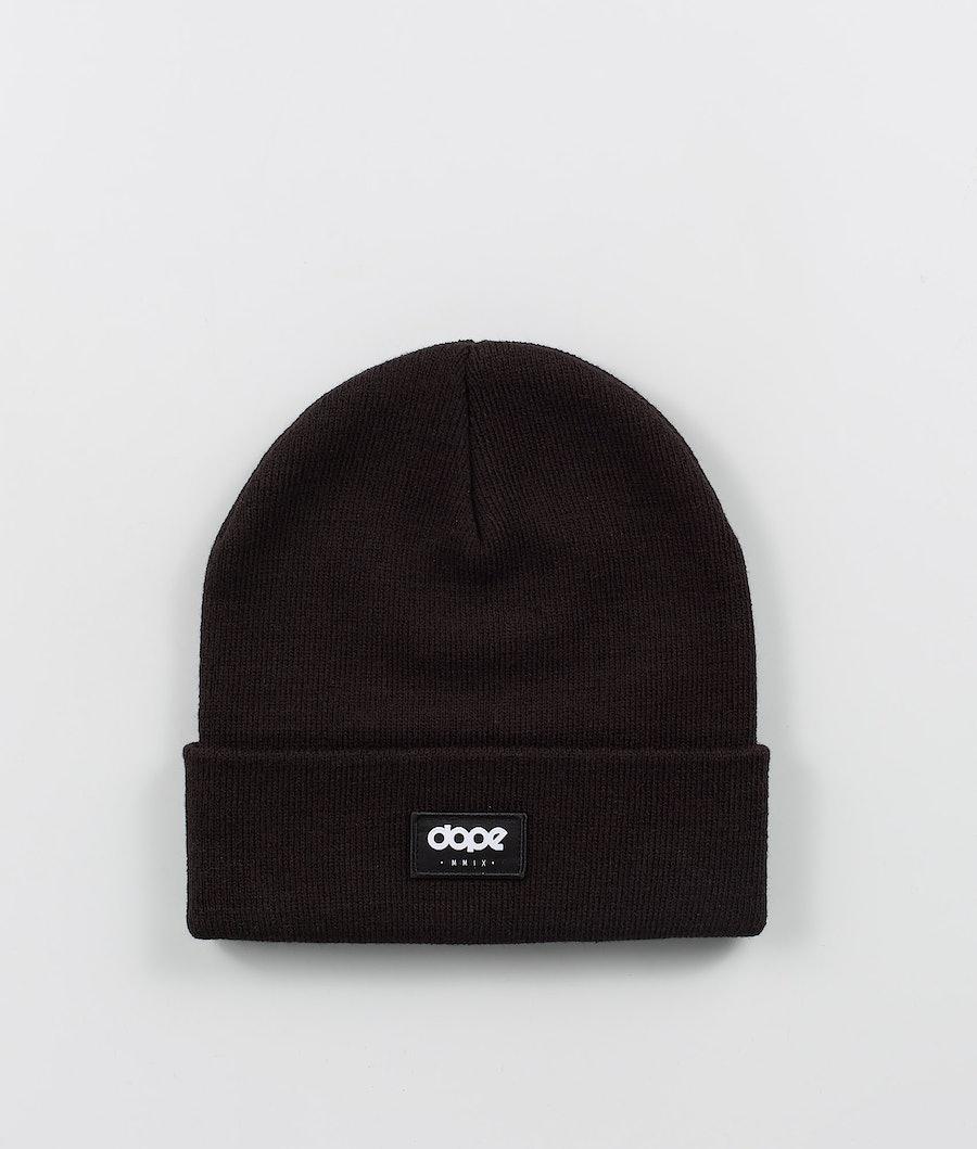Dope OG Logo Beanie Black