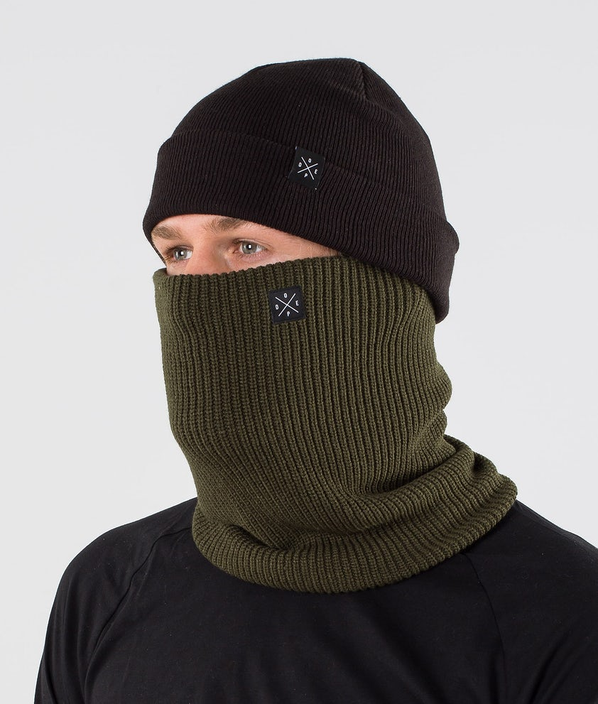 Dope 2X-UP Knitted Ansiktsmasker Olive Green
