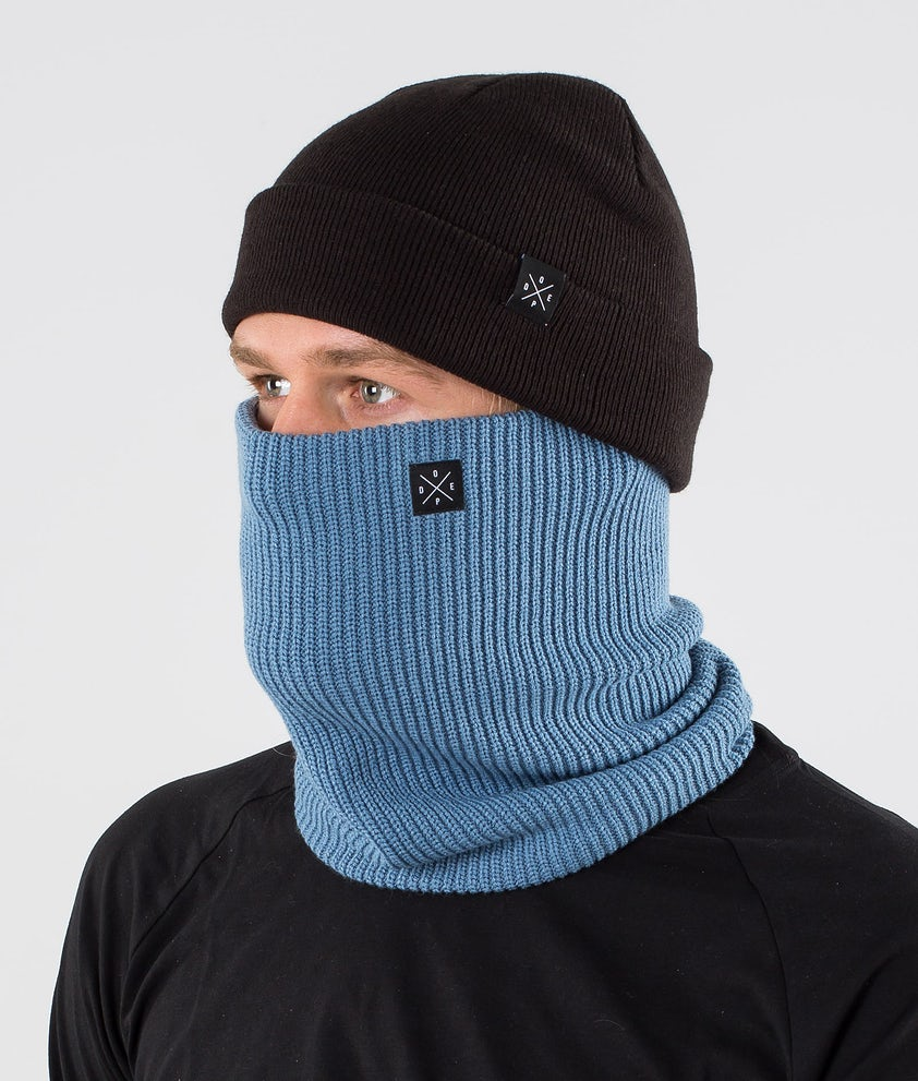 Dope 2X-UP Knitted Ansiktsmask Blue Steel