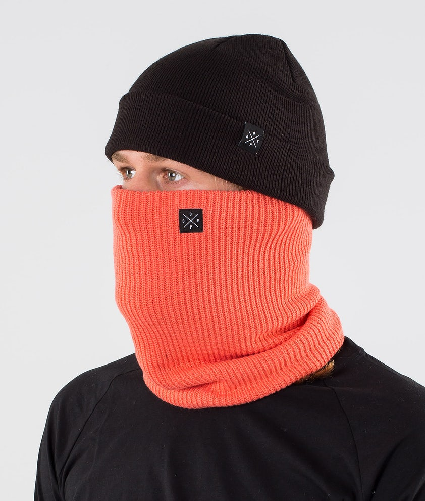 Dope 2X-UP Knitted Facemask Coral