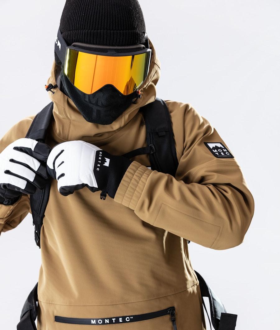 Montec Tempest Snowboard Jacket Gold