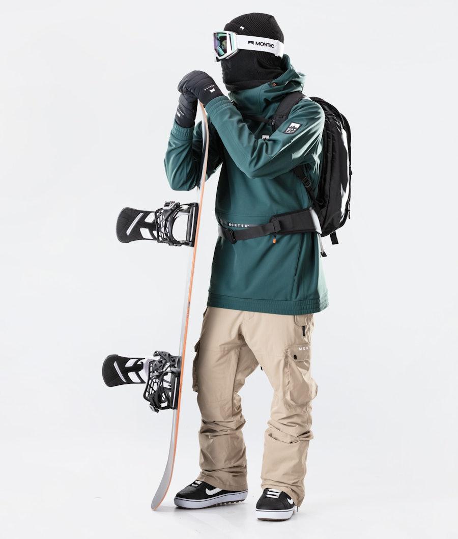 Montec Tempest Snowboard jas Dark Atlantic