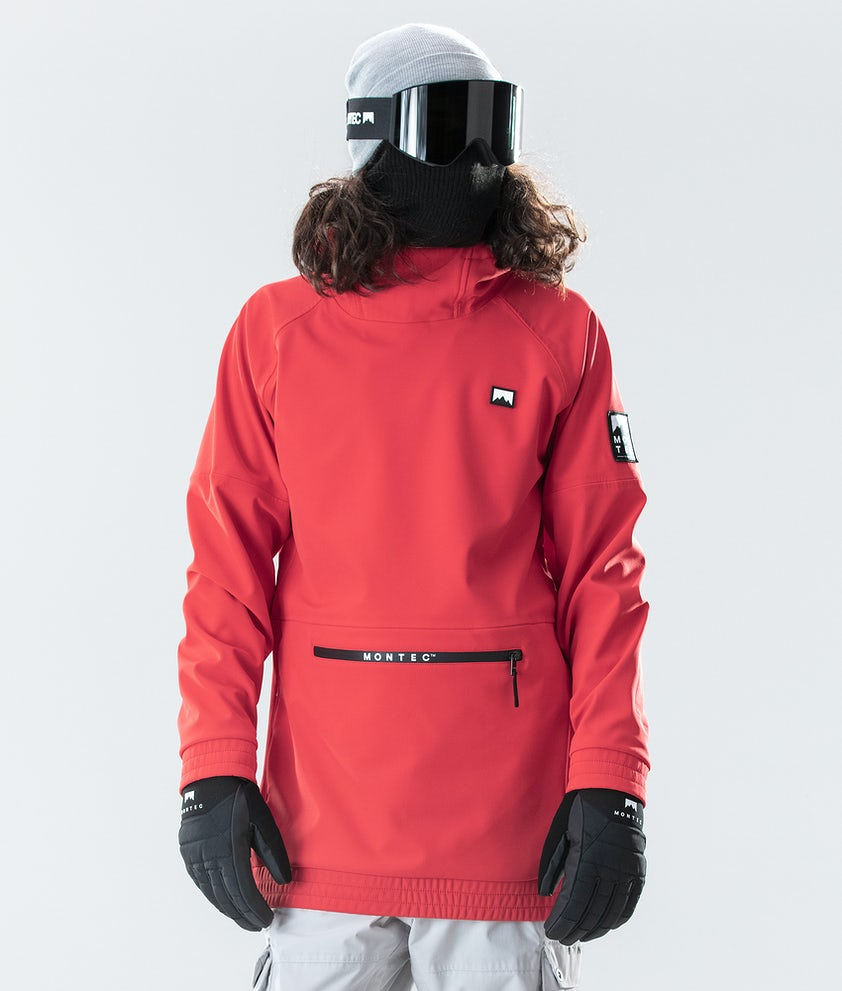 Montec Tempest Snowboard Jacket Red