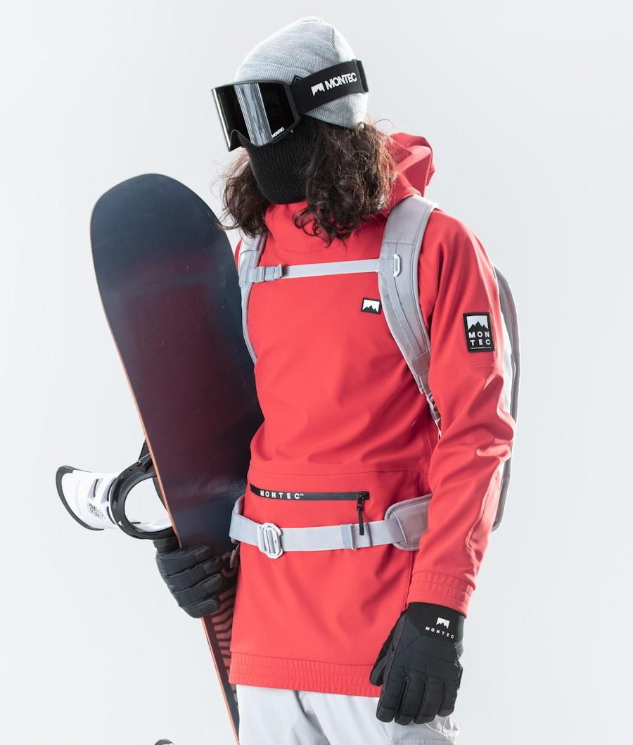 Montec Tempest Snowboard jas Red