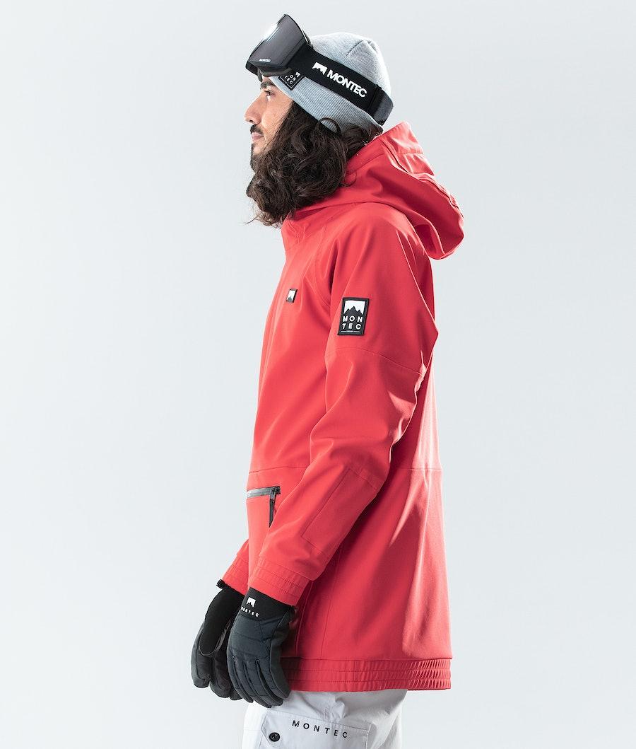 Montec Tempest Ski Jacket Red