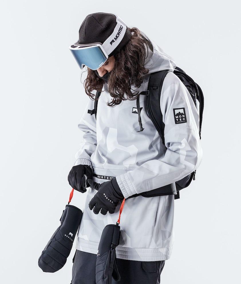 Montec Tempest Skijakke Snow Camo