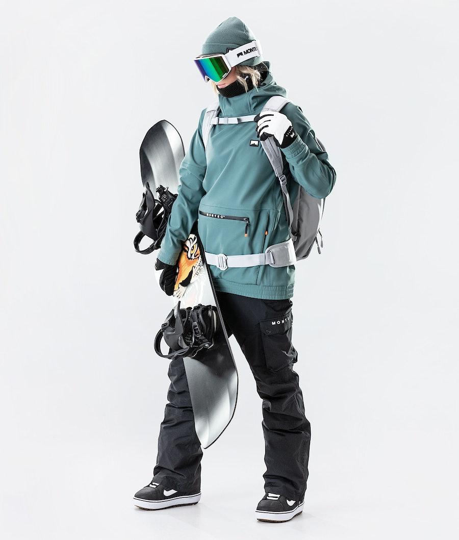 Montec Tempest W Veste de Snowboard Femme Atlantic