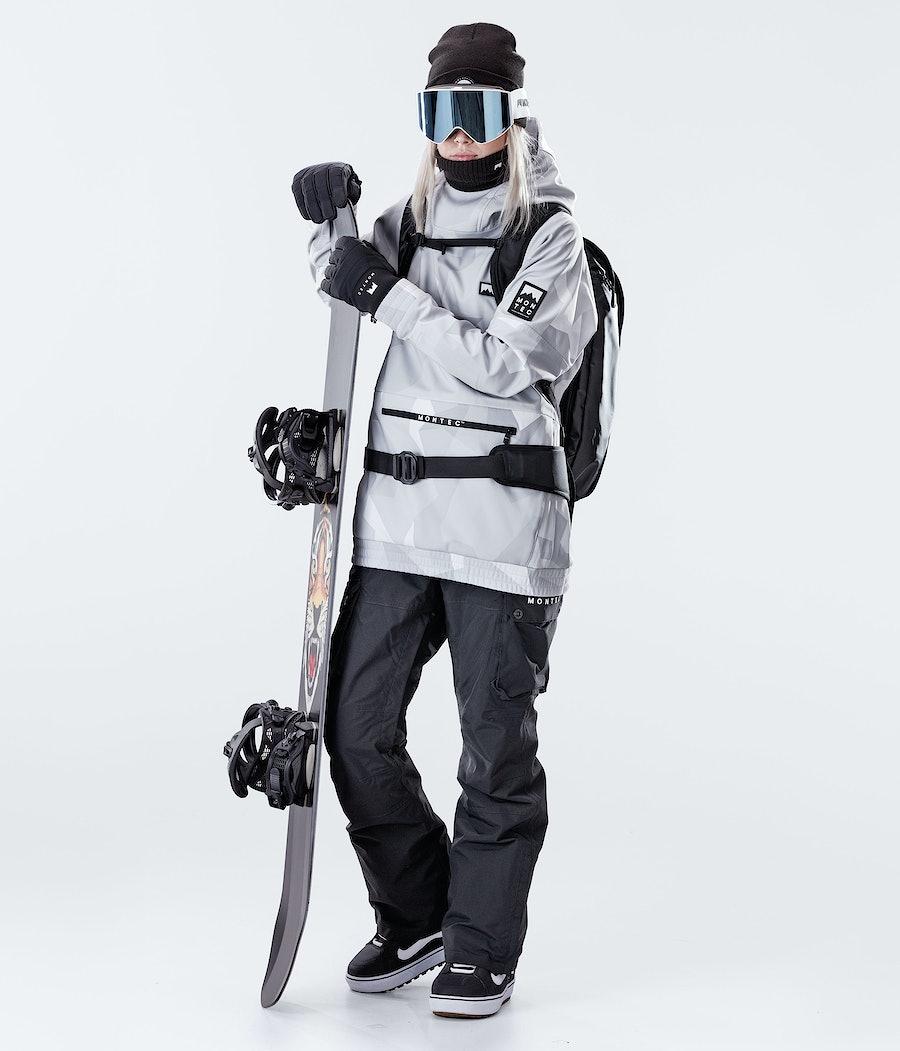 Montec Tempest W Veste de Snowboard Femme Snow Camo