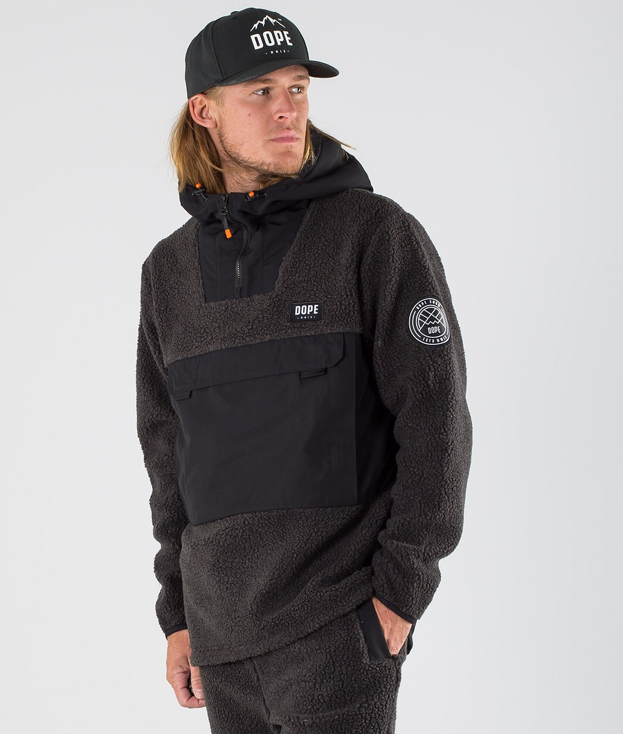 Dope Oi Fleece Hoodie Black/Phantom