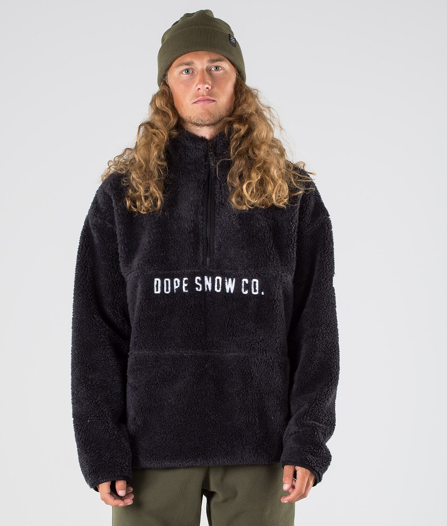 Dope Pile Fleece Trui Phantom