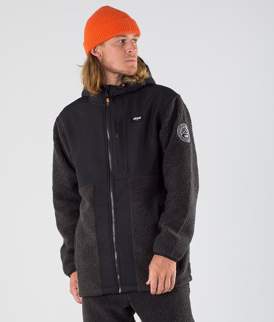 Dope Ollie Fleece Hood Black/Phantom