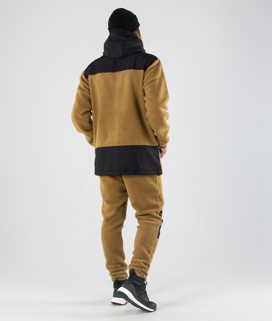 Dope Ollie Fleece Hood Black/Gold