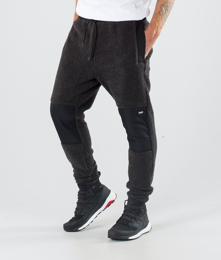 Dope Ollie Fleece Broek Phantom/Black