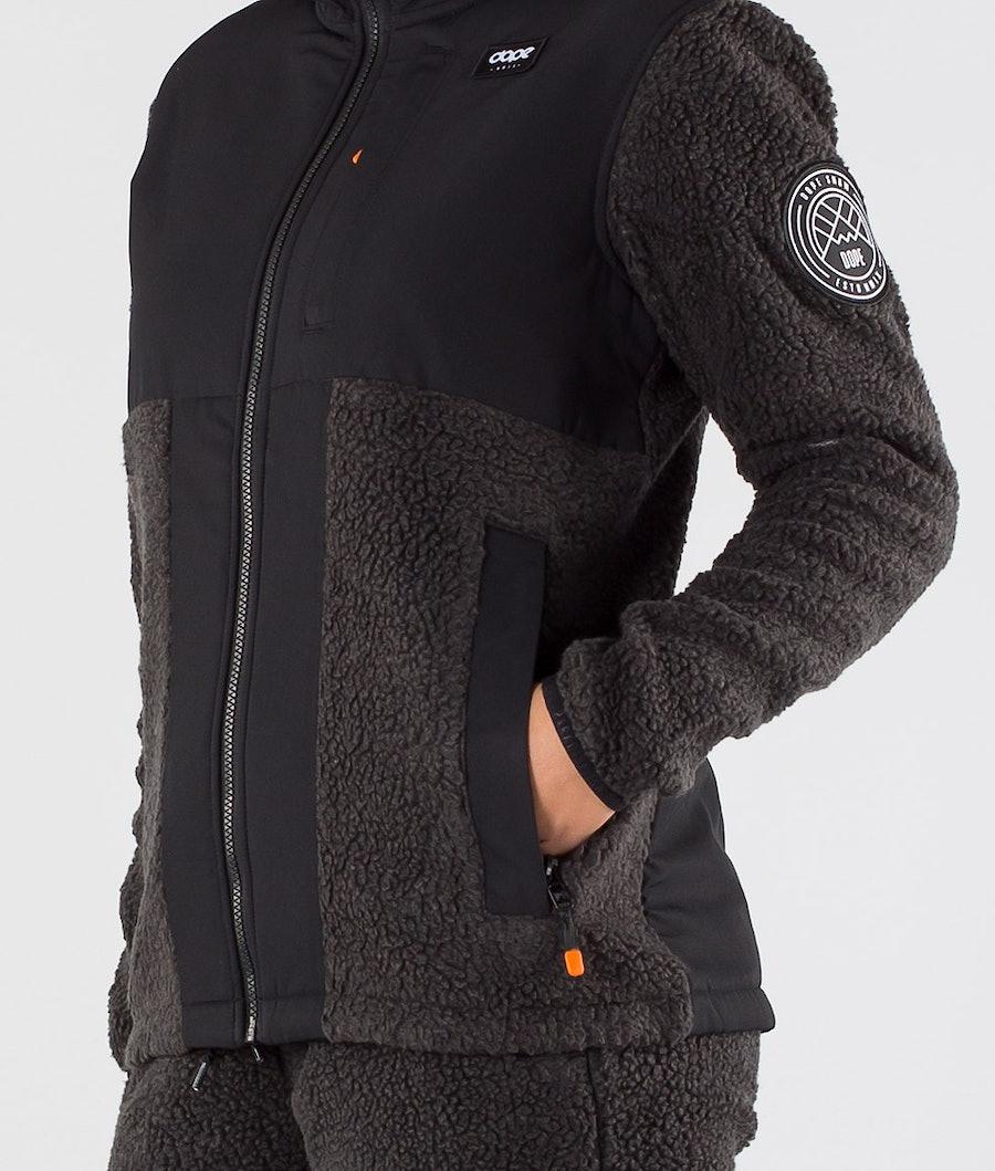 Dope Ollie W Women's Fleece Hood Black/Phantom