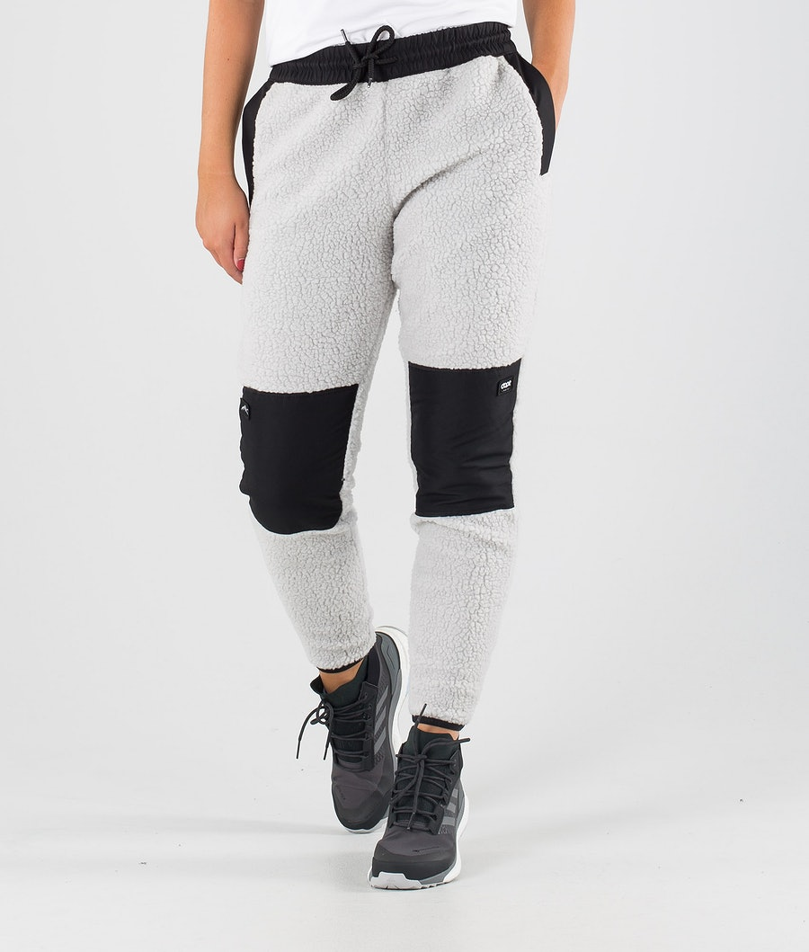 Dope Ollie W Pantalons Polaire Black/Light Grey